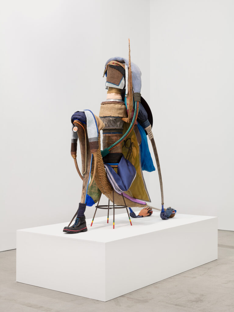 Lind-Ramos, Victorious-1797#11 (view 2), 2017-2020, mixed media, 70 x 70 x 33 in., 177.8 x 177.8 x 83.8 cm, CNON 62.217_Pierre Le Hors